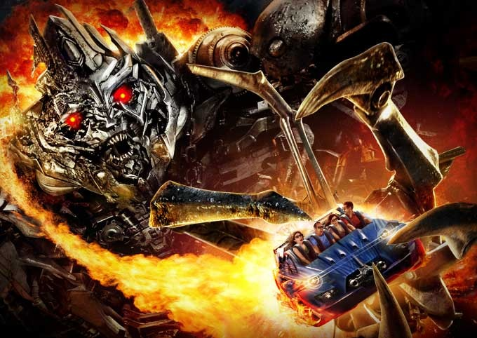 Abre Transformers The Ride 3D