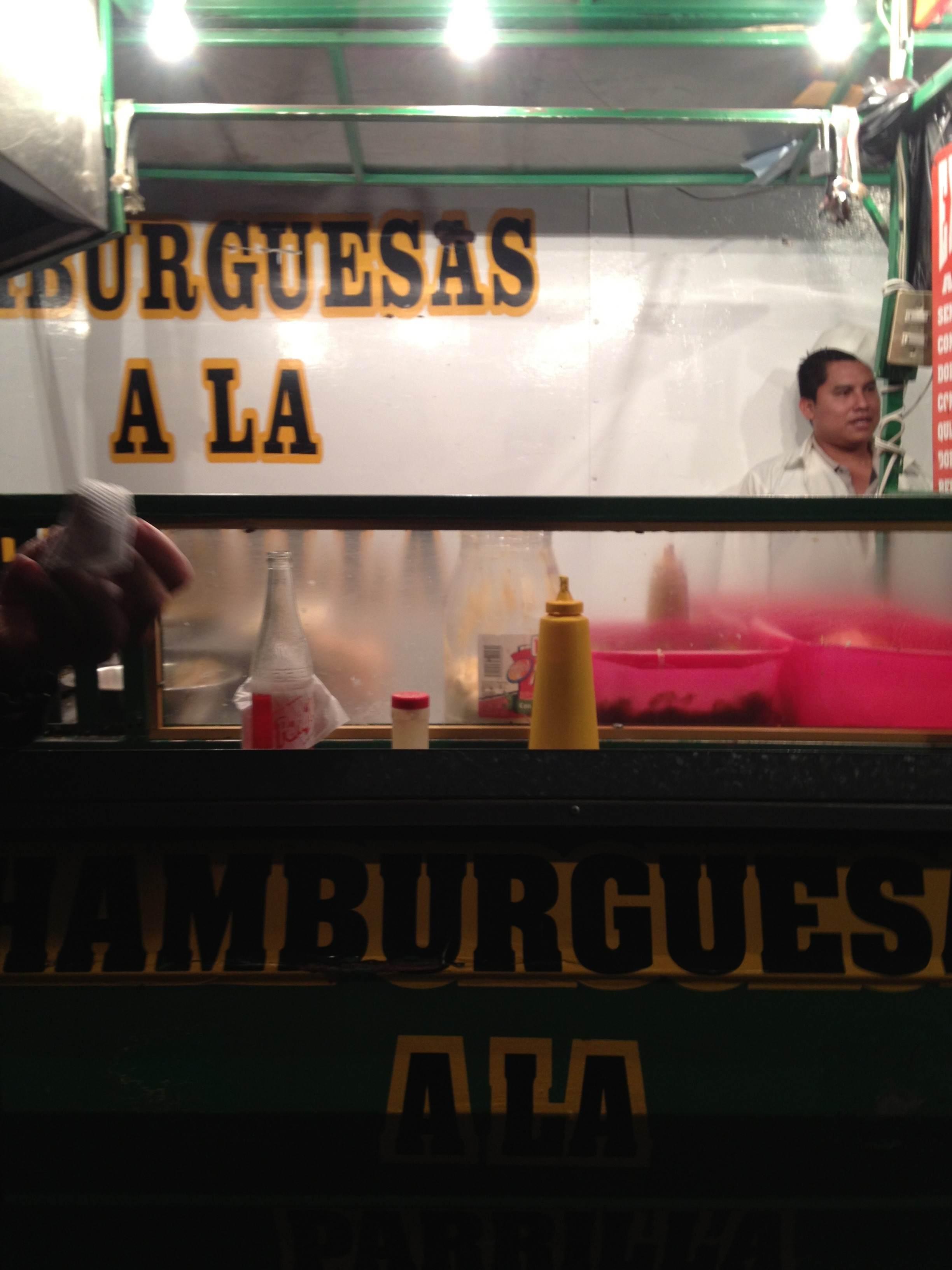 Las hamburguesas de la esquina