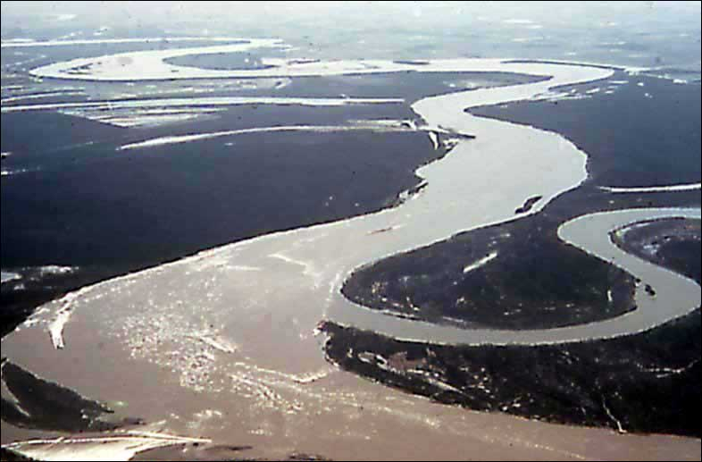 El día que el río Mississippi corrió en sentido contrario