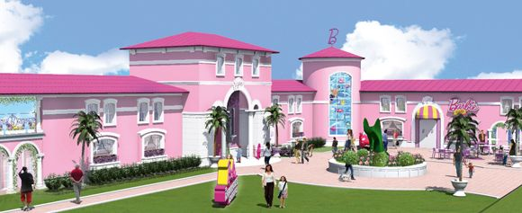 La casa de Barbie