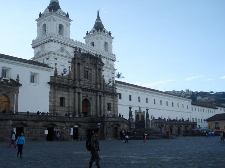 Viaje a Quito con sólo una mochila