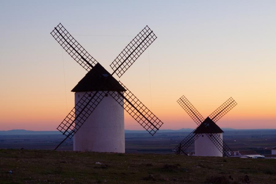 Visita los molinos del Quijote de la Mancha