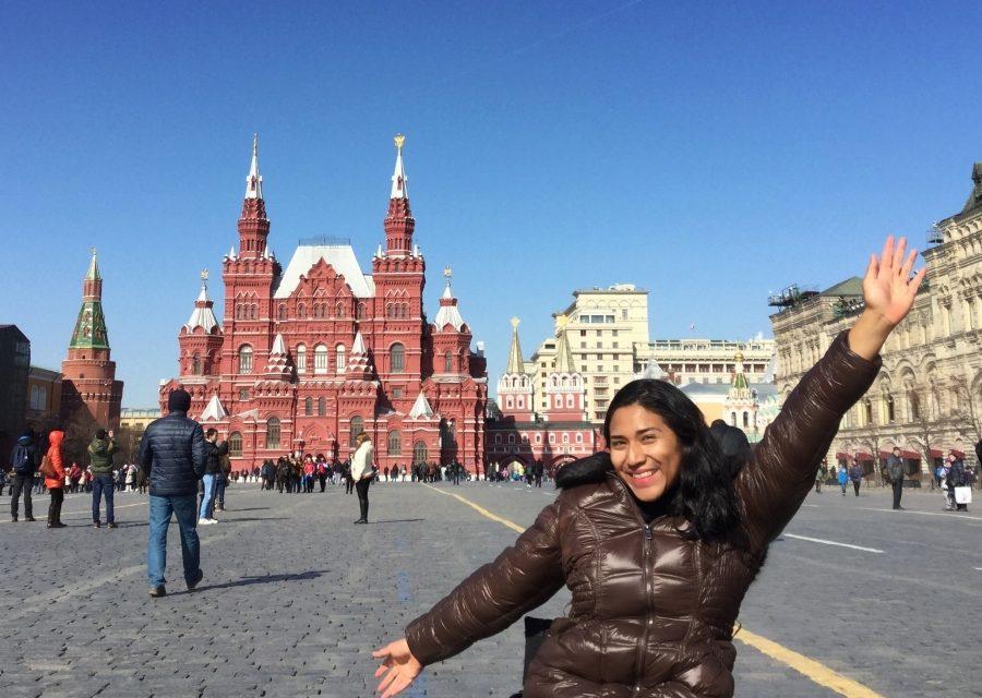 Rusia en silla de ruedas: el espíritu indomable de una viajera